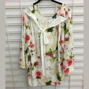 The Limited long sleeve floral top